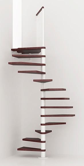 Escalera de caracol kit cube ref 13928096 leroy merlin - Escaleras interiores leroy merlin ...