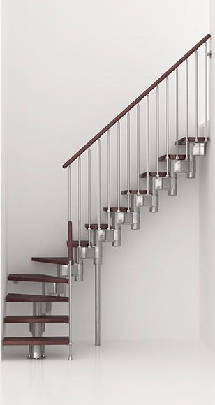 Escalera 1 4 de giro kit long l ref 13927515 leroy merlin - Kit renovation escalier leroy merlin ...