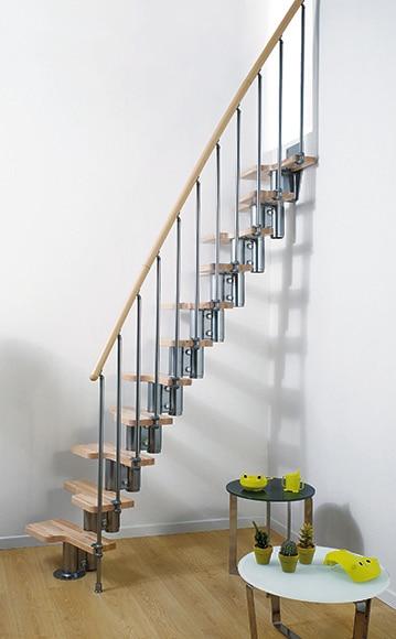 escalera recta kit mini ref 13928845 leroy merlin. Black Bedroom Furniture Sets. Home Design Ideas