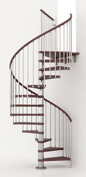 escalera de caracol kit ring ref 13925380 leroy merlin. Black Bedroom Furniture Sets. Home Design Ideas