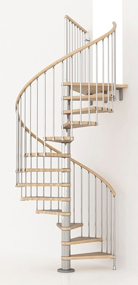 Escalera de caracol kit ring ref 13925436 leroy merlin - Escalera caracol leroy merlin ...