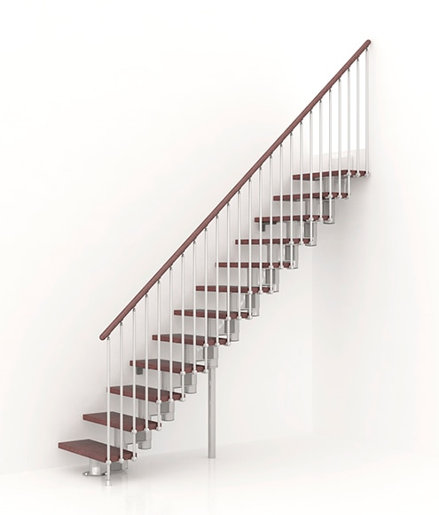 Escalera recta long recta ref 13927074 leroy merlin for Escaleras interior leroy merlin