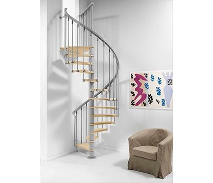 Escalera de caracol nice ref 14608216 leroy merlin - Escalera de caracol prefabricada ...