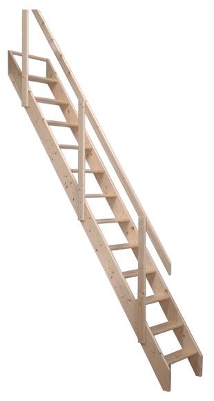 Escalera de molinero recta ref 15736175 leroy merlin - Escaleras aluminio leroy merlin ...