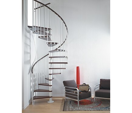 escalera de caracol ring ref 13925485 leroy merlin. Black Bedroom Furniture Sets. Home Design Ideas