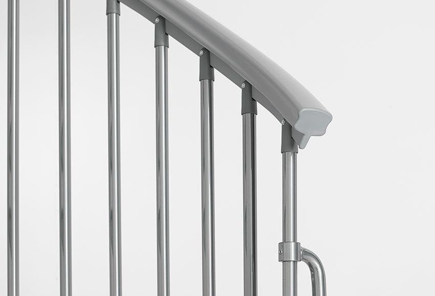 Escalera de caracol steel ref 14129556 leroy merlin - Escaleras aluminio leroy merlin ...