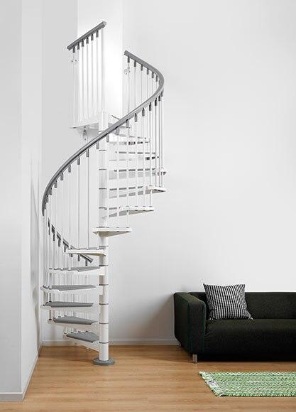 Escalera de caracol steel ref 14129584 leroy merlin - Cerrar escalera caracol ...