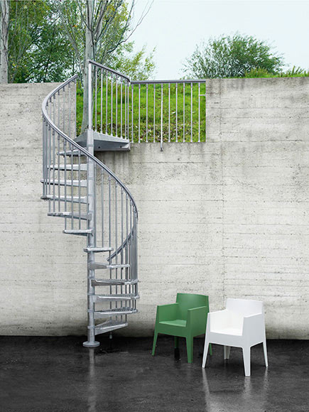 Escalera de caracol steelzink ref 14129752 leroy merlin - Escaleras de caracol barcelona ...