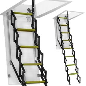 Como hacer una escalera plegable para altillo good como - Como hacer una escalera plegable para altillo ...