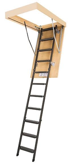 Escalera escamoteable lms ref 16951543 leroy merlin - Escaleras leroy merlin ...