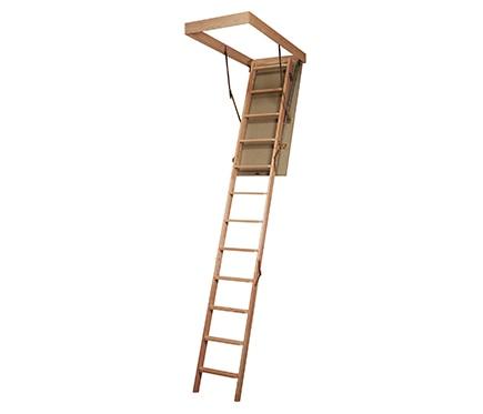 Escalera escamoteable madera ref 15736112 leroy merlin - Escaleras leroy merlin ...