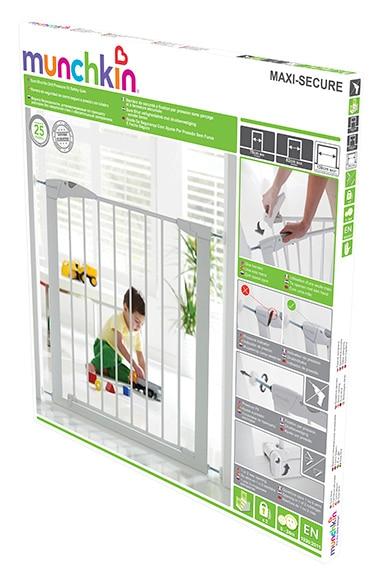 Valla infantil metal maxi secure ref 15737575 leroy merlin - Leroy merlin seguridad infantil ...
