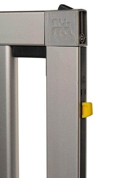 Valla infantil de seguridad de aluminio numi ref 15737666 - Leroy merlin seguridad infantil ...