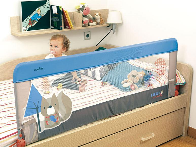 Barrera de cama nido infantil 150cm forest ref 19372962 for Cama nido para ninos