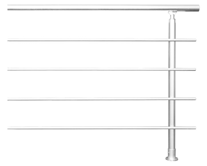 kit ampliaci n barandilla aluminio rondo secundo 1m ref