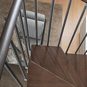 Escalera de caracol cube ref 13928033 leroy merlin - Escalera caracol leroy merlin ...