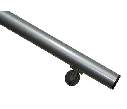 Aluminio kit pasamanos 2 metros ref 13930945 leroy merlin for Pasamanos leroy merlin
