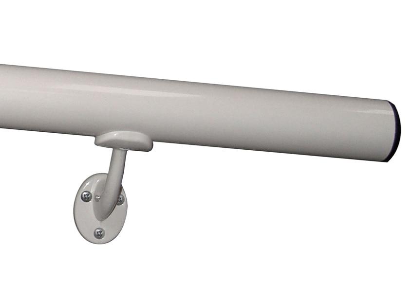 Aluminio kit pasamanos 2 metros ref 13930952 leroy merlin for Escaleras interior leroy merlin
