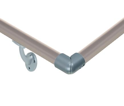 Kit pasamanos aluminio gris kit pasamanos aluminio gris for Pasamanos de aluminio