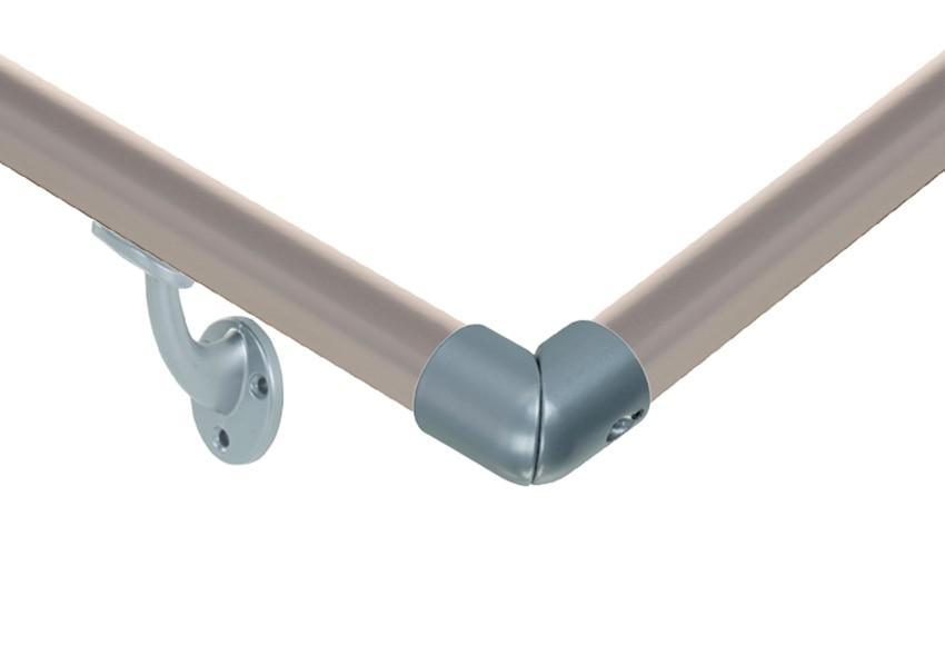 Kit pasamanos aluminio gris kit pasamanos aluminio gris - Escaleras aluminio leroy merlin ...