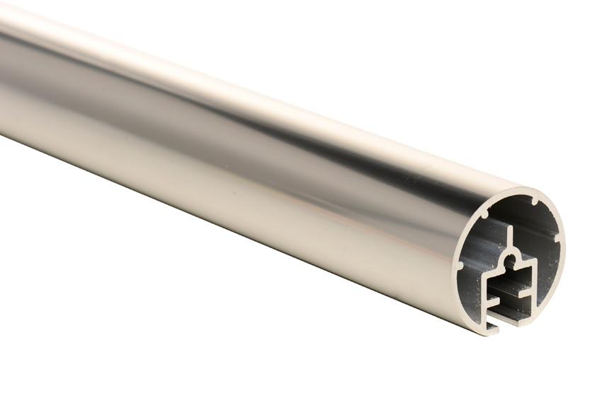 Pasamanos kit pasamanos aluminio pulido ref 13931085 for Pasamanos leroy merlin