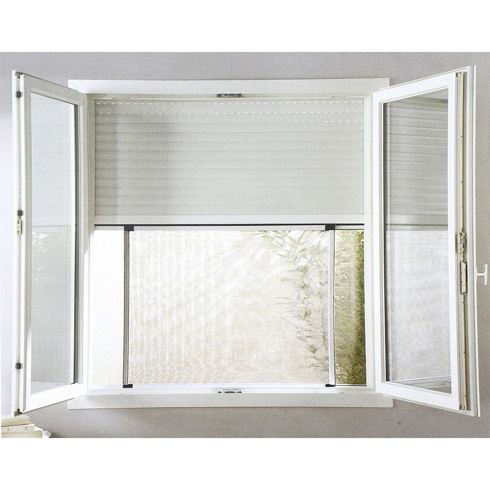 Mosquitera aluminio extensible ref 16104683 leroy merlin for Mosquiteras leroy merlin instalacion