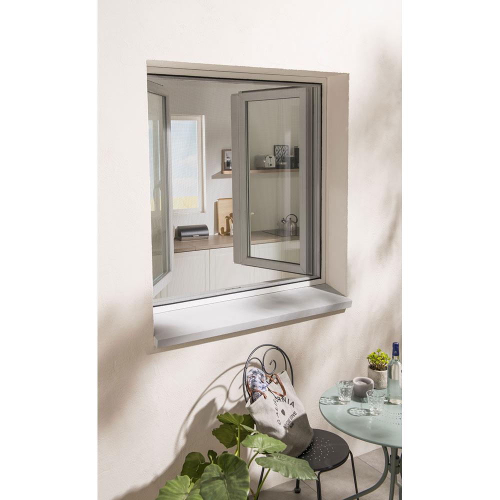 mosquitera fija autoadherente ventana ref 14655494 leroy merlin. Black Bedroom Furniture Sets. Home Design Ideas