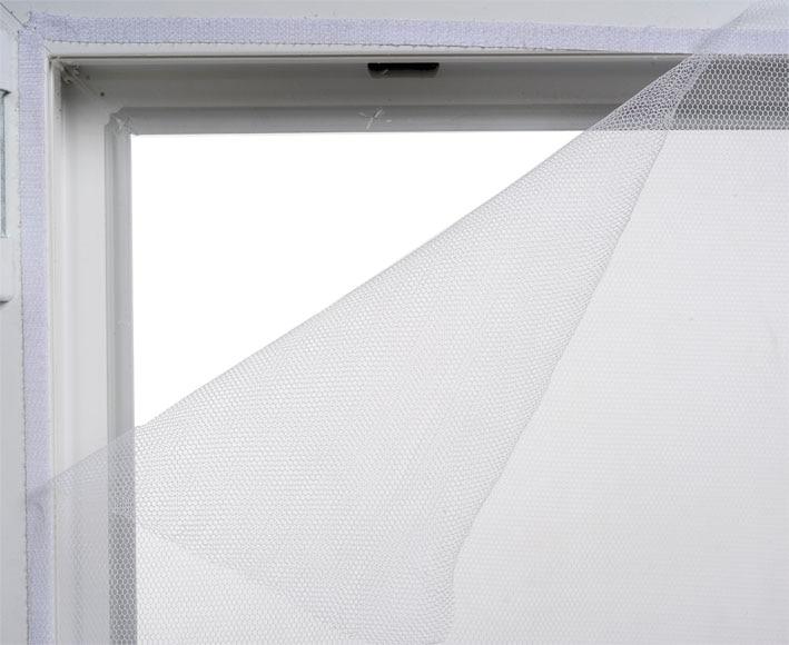 mosquitera fija con velcro fija con velcro para ventana On mosquiteras velcro carrefour