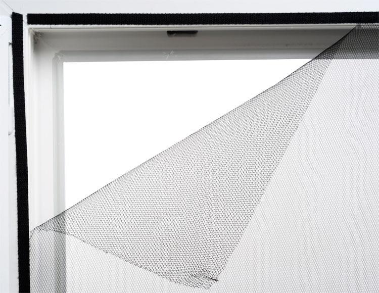 mosquitera fija con velcro fija con velcro para ventana. Black Bedroom Furniture Sets. Home Design Ideas
