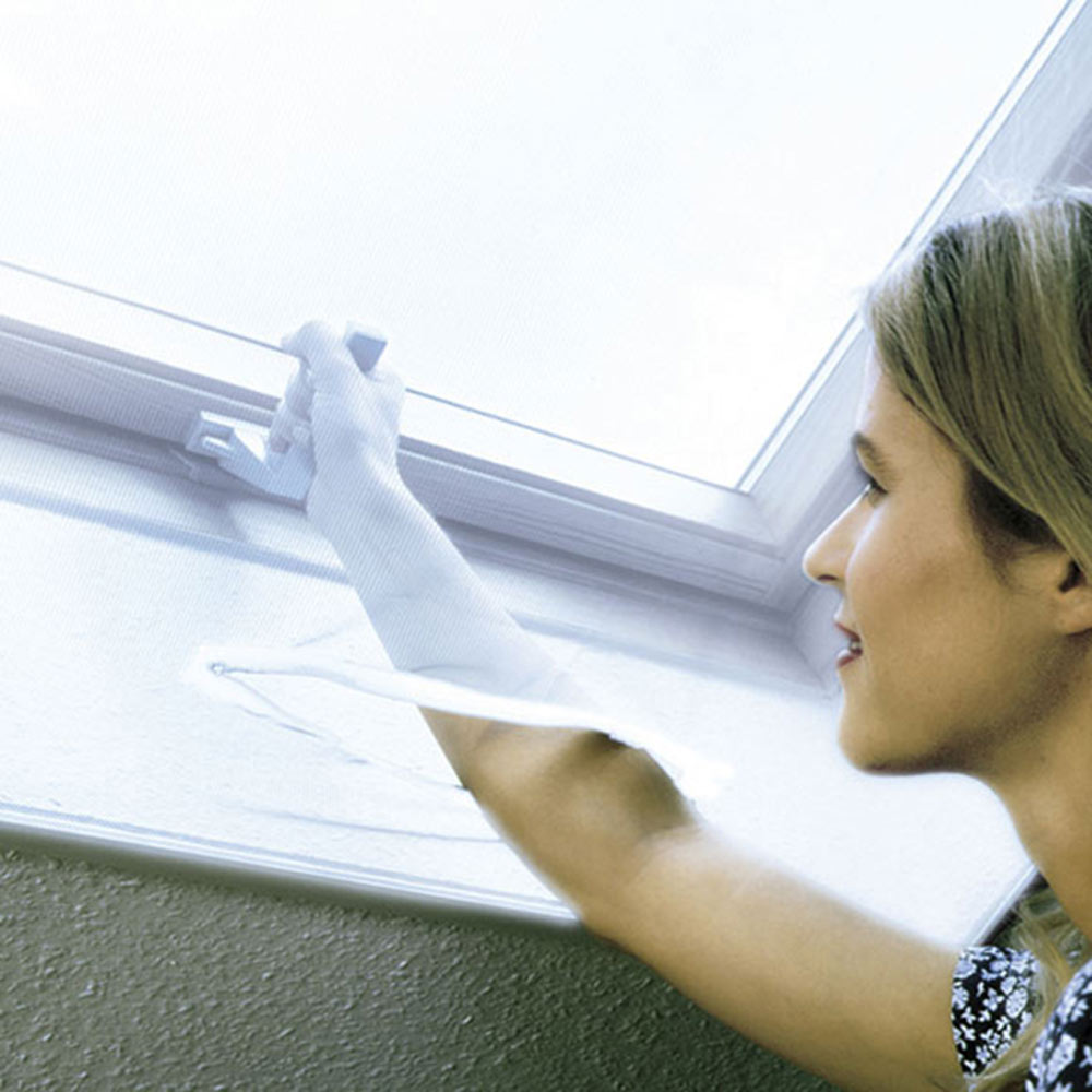 Mosquitera fija velcro ventana tejado ref 16852283 for Velcro para mosquitera