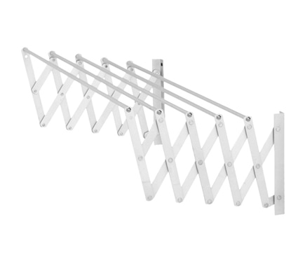 Tendedero de pared Acordeon 100 Cm Epoxi
