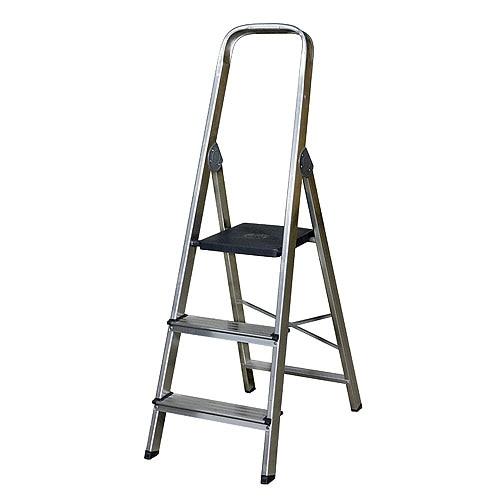 Escalera de tijera dom stica altipesa aluminio 3p ref for Escalera de cocina plegable