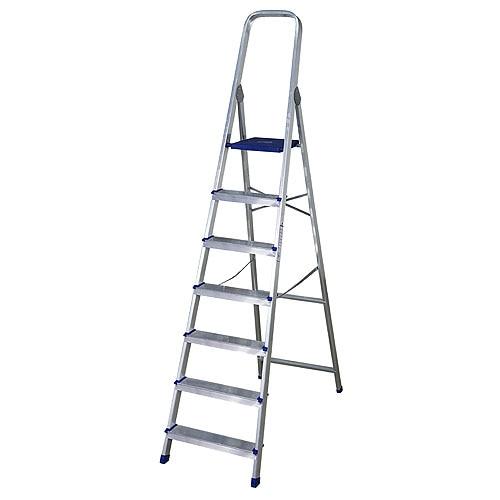 Escalera de tijera dom stica altipesa aluminio 7p ref - Escaleras aluminio leroy merlin ...