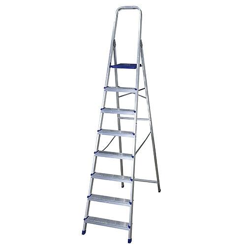 Escalera de tijera dom stica altipesa aluminio 8p ref for Escaleras domesticas plegables