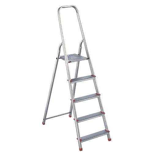 Escalera de tijera dom stica artub dom stica 5p ref for Escaleras domesticas plegables