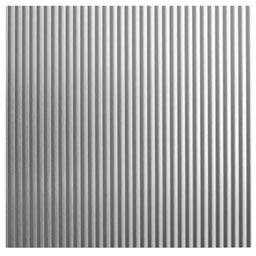 Chapa de aluminio anodizado ondulado ref 12715675 leroy - Chapa aluminio leroy merlin ...