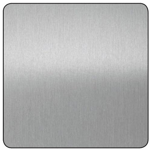 Chapa de aluminio anodizado plata lijado ref 13850102 - Chapa aluminio leroy merlin ...