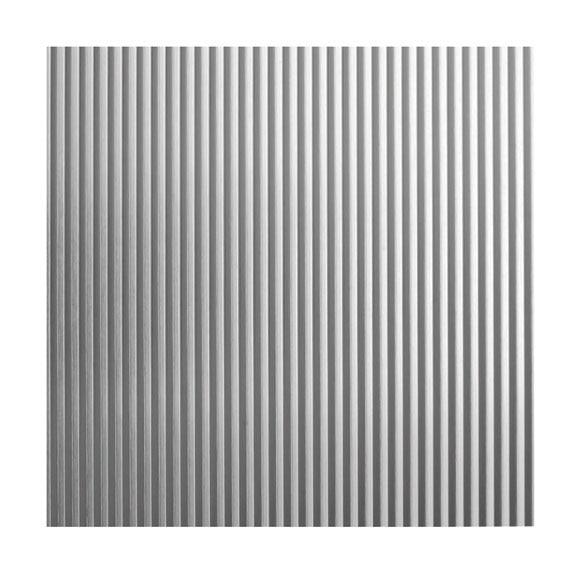 Chapa de aluminio anodizado ondulado ref 12715696 leroy for Plancha aluminio leroy merlin