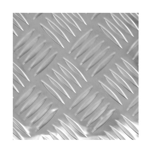 Chapa de aluminio bruto ajedrez ref 12715612 leroy merlin - Plancha aluminio precio ...