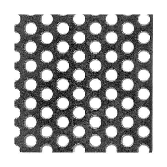 Chapa de acero perforado punto ref 11118485 leroy merlin - Chapa aluminio leroy merlin ...