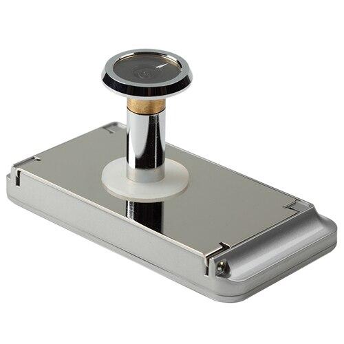Mirilla digital para puerta km 100 ref 16290386 leroy - Puertas de seguridad leroy merlin ...