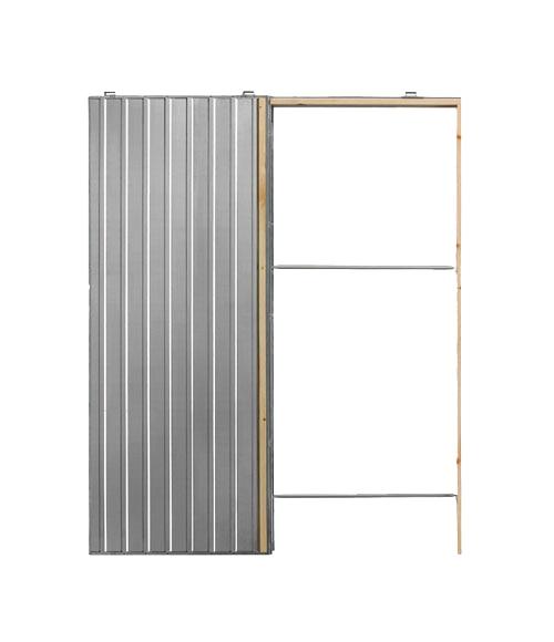 Guia encastrable para puerta corredera puerta simple 60 - Puertas para chimeneas leroy merlin ...