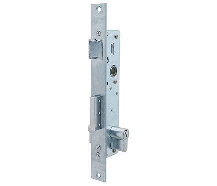 Cerradura para puerta de metal tesa 2210 2210d inoxidable for Cerraduras tesa leroy merlin