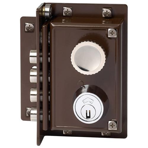 Cerradura para puerta de madera jis 5240 marron ref for Serrature mottura leroy merlin