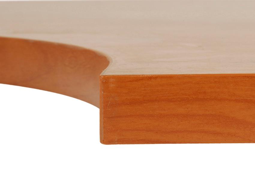 Tapa de mesa estudio melamina cerezo 120x80x25cm ref for Mesas estudio leroy merlin