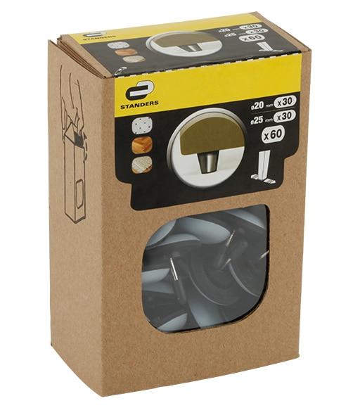 pat n ptfe de clavar gris pat n ptfe de clavar gris ref 370310. Black Bedroom Furniture Sets. Home Design Ideas