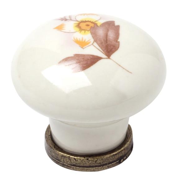 Pomo de porcelana ref 12944862 leroy merlin - Tiradores de porcelana ...