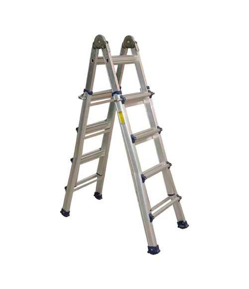 Escalera multiposici n 2 tramos siersa multiposici n 2 tr - Escaleras leroy merlin ...