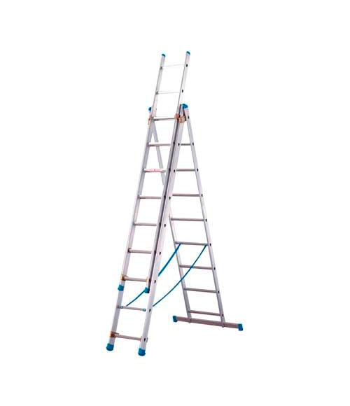 Escalera 3 tramos artub 3 tr bricolaje 2 55 x 5 91 ref for Escalera madera 2 tramos
