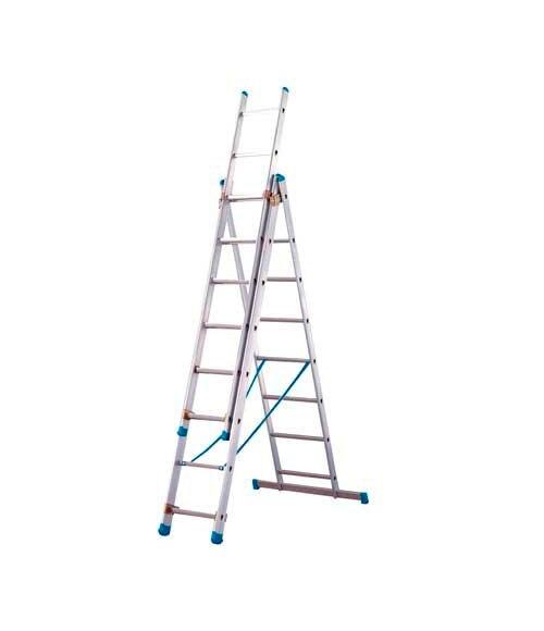 Escalera 3 tramos artub 3 tr bricolaje 2 27 x 5 07 ref for Escalera de aluminio de 3 metros